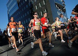 matathon runners
