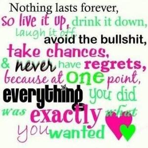 regrets 3