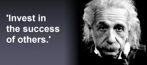 albert-einstein-quotes Invest in suc
