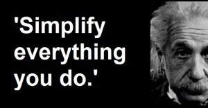 Albert einstein simplify