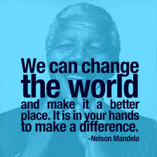 mandela change the world
