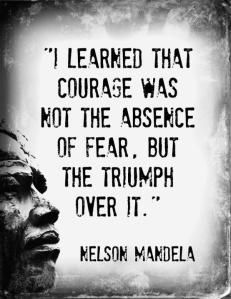 Mandela courage
