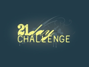 21 day challenge 1