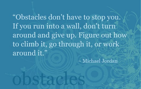 8 steps process to overcoming your obstacles