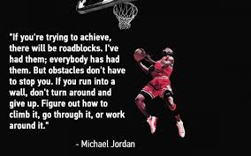 obstacles michael jordan