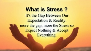 stress is